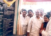 Inaguration of Water Supply Project