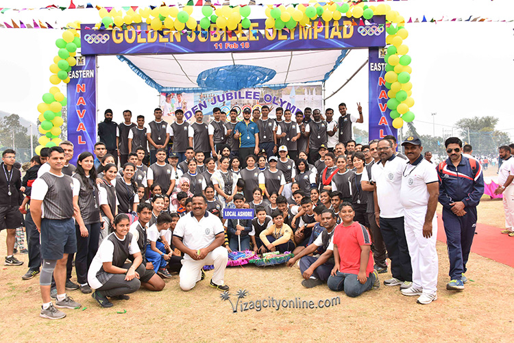 Sports Olympiad held at ENC