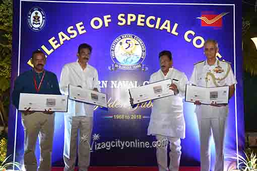 Special Cover on ENC Released during At Home Function on Navy Day