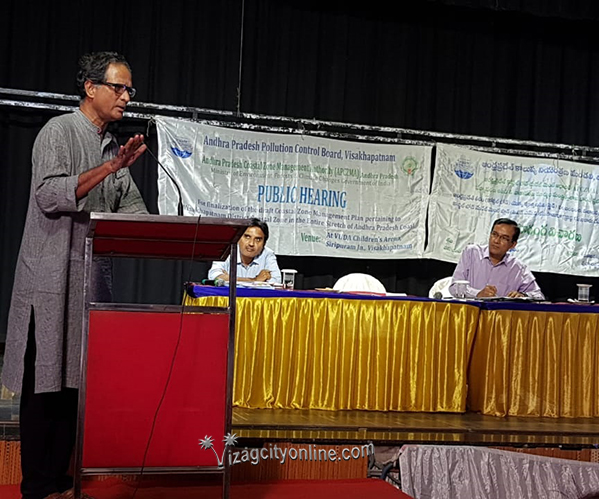 Public Hearing on draft CRZ held at Vizag