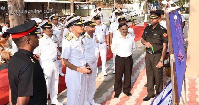 Navy Day Rehearsals At RKBeach