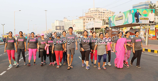 Vizag Going Pink